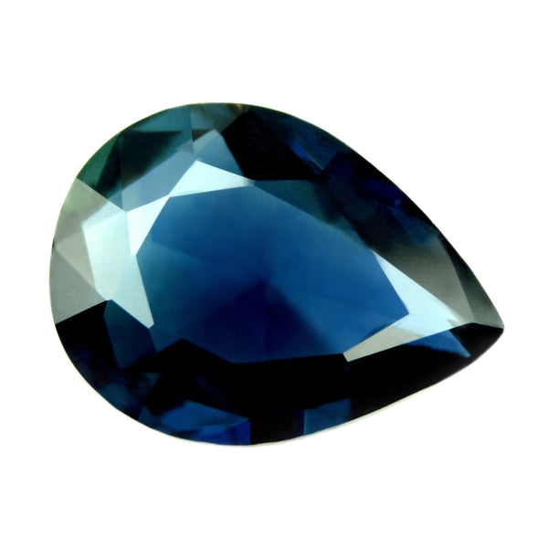 1.09ct Certified Natural Blue Sapphire