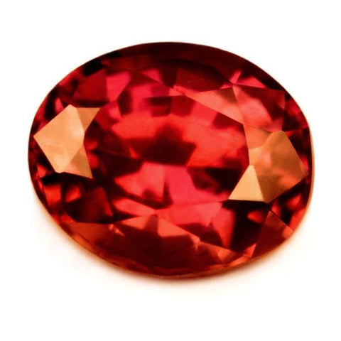 0.76ct Certified Natural Red Ruby