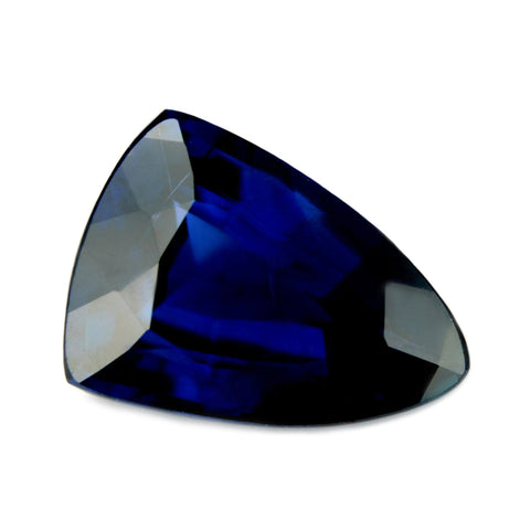 1.47ct Certified Natural Royal Blue Sapphire