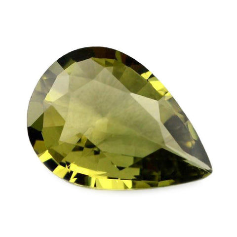 0.96ct Certified Natural Green Sapphire