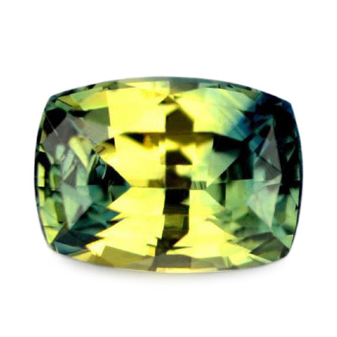 0.84ct Certified Natural Multicolor Sapphire