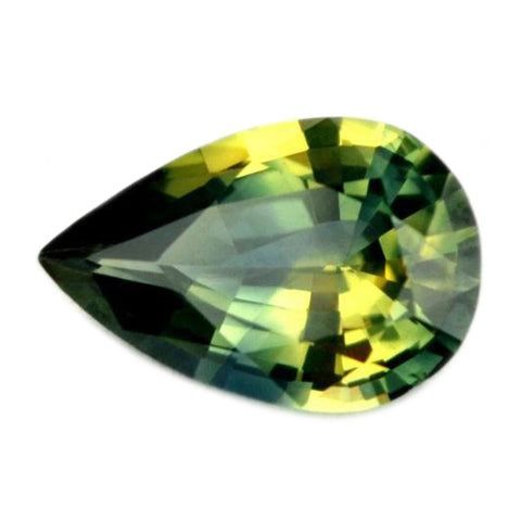 1.00ct Certified Natural Green Sapphire