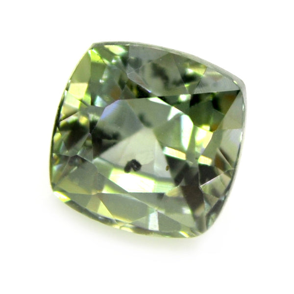 0.99ct Certified Natural Green Sapphire