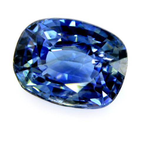 1.63ct Certified Natural Blue Sapphire