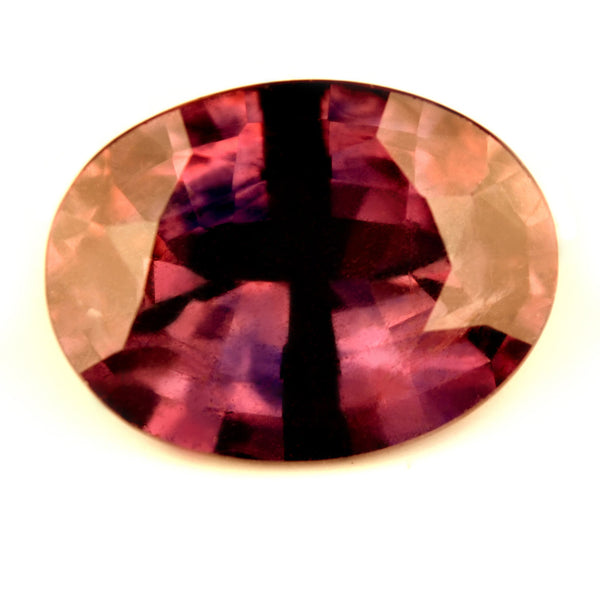 Certified Natural 1.53ct Reddish Pink & Blue Sapphire, VS Clarity - sapphirebazaar - 1