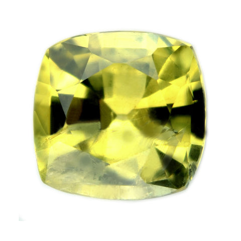 1.36 ct Certified Natural Yellow Sapphire