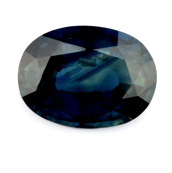 0.84 ct Certified Natural Blue Sapphire