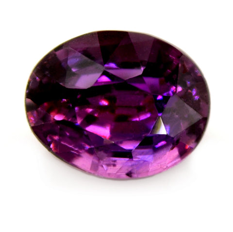 1.04 ct Certified Natural Purple Sapphire