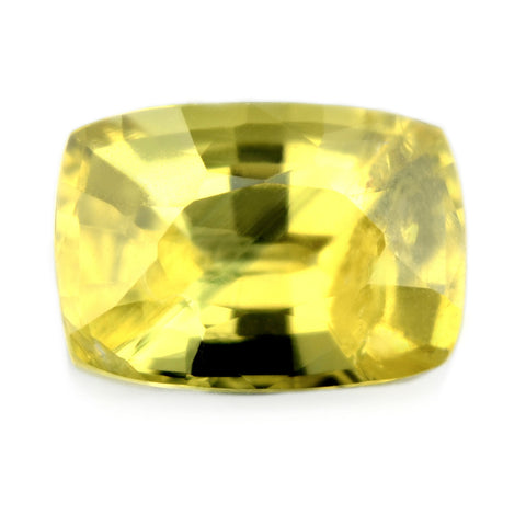 1.49 ct Certified Natural Yellow Sapphire