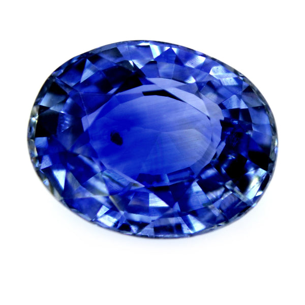 1.53ct Certified Natural Blue Sapphire