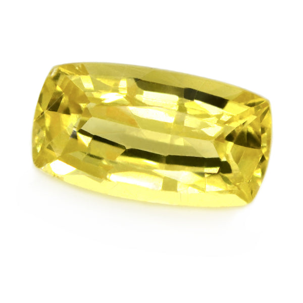 0.96ct Certified Natural Yellow Sapphire