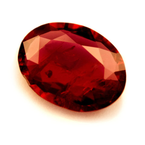 Certified Natural 0.68ct Untreated Ruby, Oval Cut - sapphirebazaar - 1