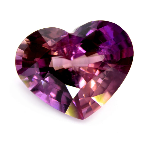 2.23 ct Certified Natural Purple Sapphire