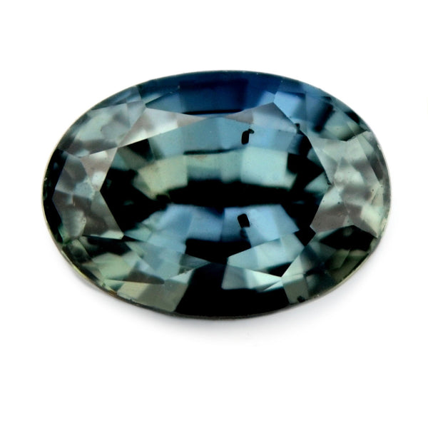 1.15 ct Certified Natural Teal Sapphire