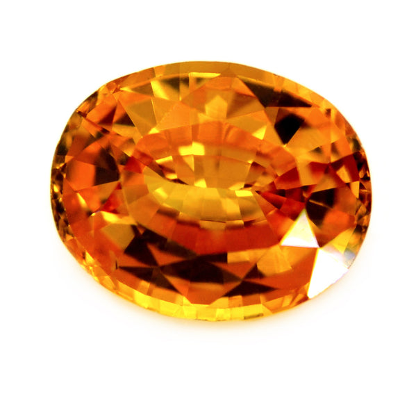 1.20 ct Certified Natural Yellow Sapphire