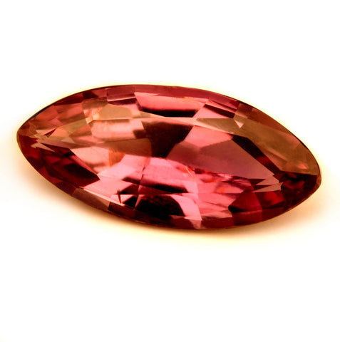 Certified Natural 0.92ct Untreated Rose Pink Ruby, VVS Clarity - sapphirebazaar - 1