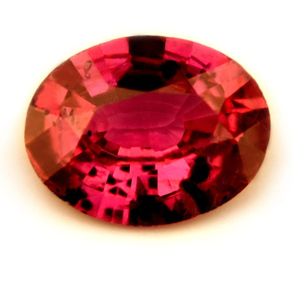 0.40ct Certified Natural Red Ruby - sapphirebazaar - 1