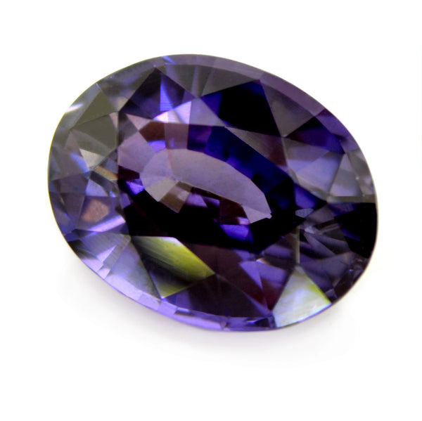 1.95 ct Certified Natural Purple Sapphire