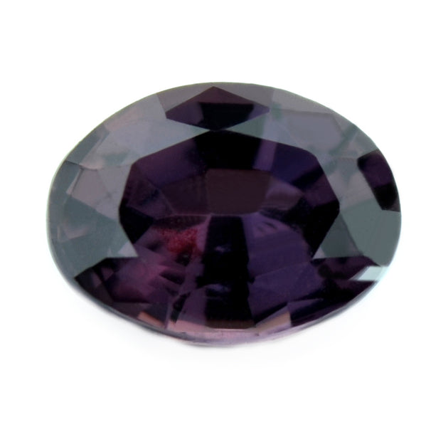 0.83 ct Certified Natural Purple Sapphire