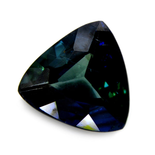 1.53ct Certified  Natural Green Sapphire