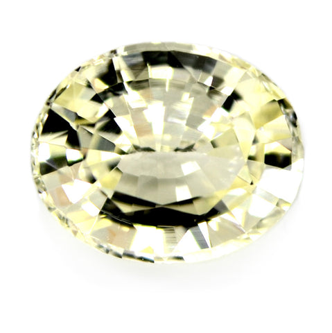 1.14 ct Certified Natural Yellow Sapphire