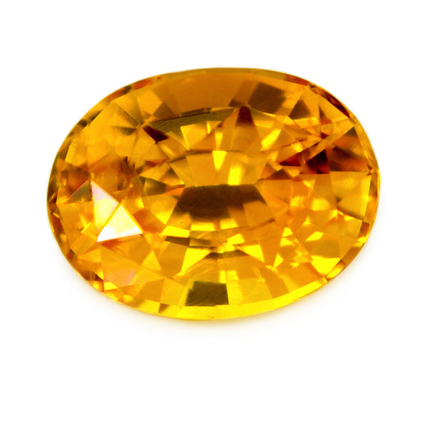 1.60 ct Certified Natural Yellow Sapphire