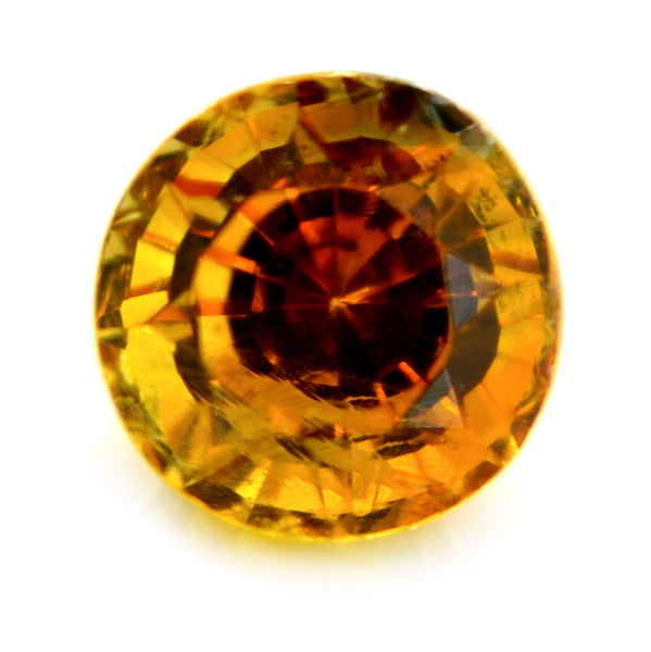 1.02ct Certified Natural Orange sapphire