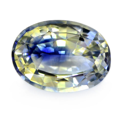 0.91ct Certified Natural Multicolor Sapphire