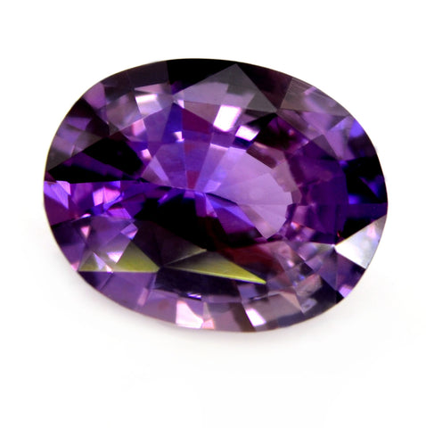 1.24 ct Certified Natural Purple Sapphire