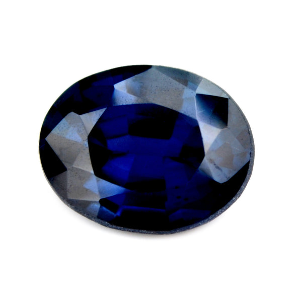 1.09 ct Certified Natural Blue Sapphire