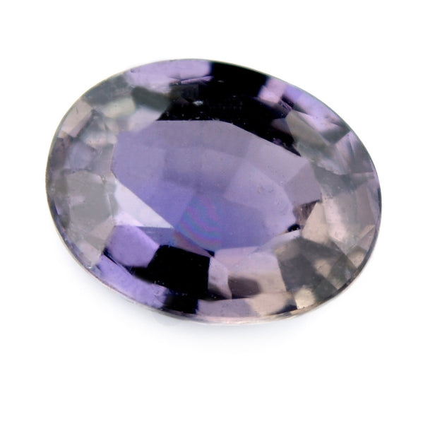 0.87 ct Certified Natural Purple Sapphire