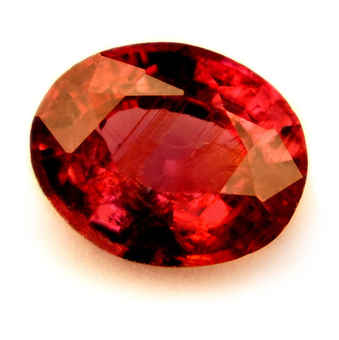 Certified Natural 0.57ct Unheated Ruby, VS Clarity - sapphirebazaar - 1