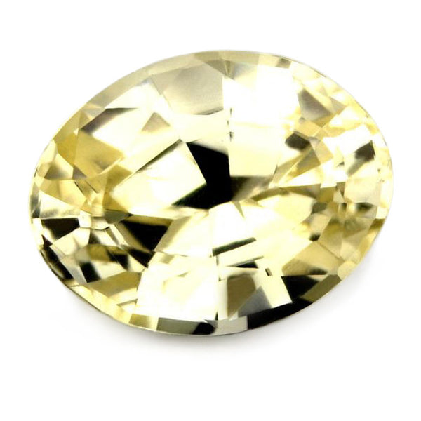 0.88ct Certified Natural Yellow Sapphire