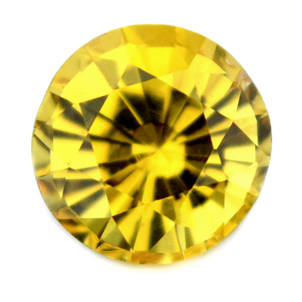 0.36 ct Certified Natural Yellow Sapphire