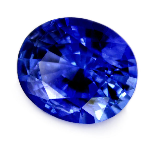0.90ct Certified Natual Blue Sapphire