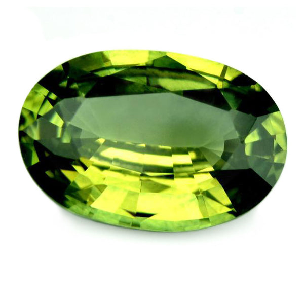 1.04ct Certified Natural Green Sapphire