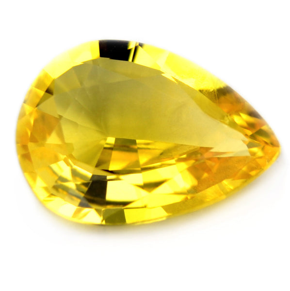0.83ct Certified Natural Yellow Sapphire - sapphirebazaar - 1