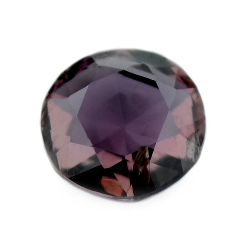 0.53 ct Certified Natural Purple Sapphire