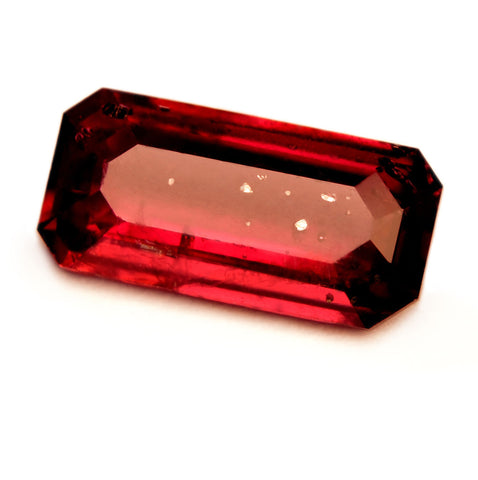 Natural Unheated Ruby Royal Red - Emerald Cut 0.83ct - sapphirebazaar - 1