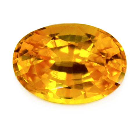 0.98 ct Certified Natural Yellow Sapphire
