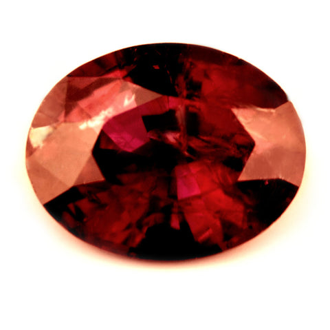 0.68ct Certified Natural Red Ruby - sapphirebazaar - 1