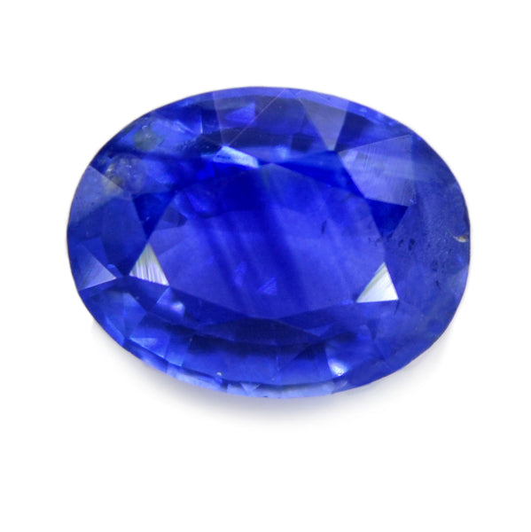 0.79 ct Certified Natural Blue Sapphire
