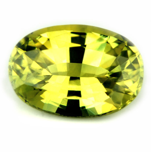1.30ct Certified Natural Yellow Sapphire - sapphirebazaar - 1