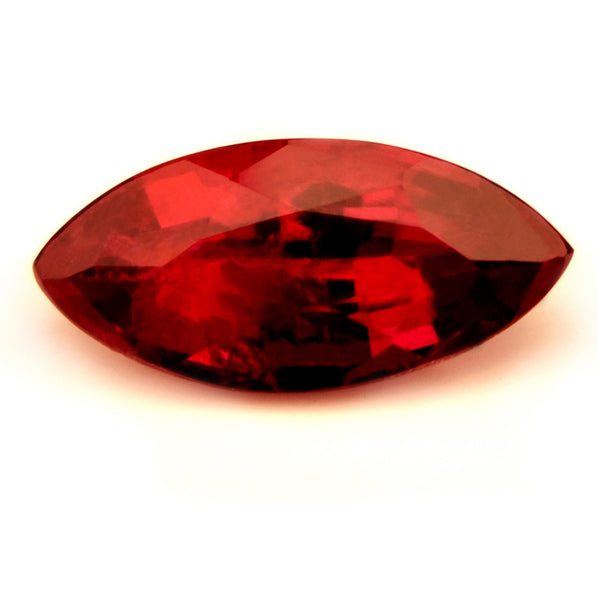 0.85ct Certified Natural Red Ruby - sapphirebazaar - 1