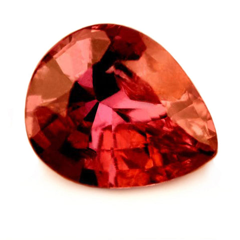0.86 ct Certified Natural Pinkish Red Ruby