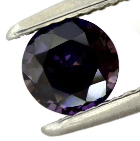 0.96ct Certified Natural Purple Sapphire