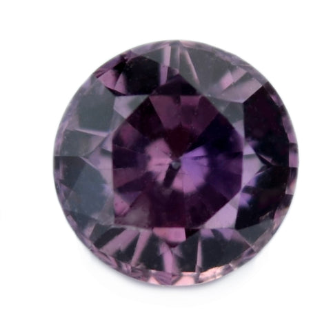 0.52 ct Certified Natural Purple Sapphire