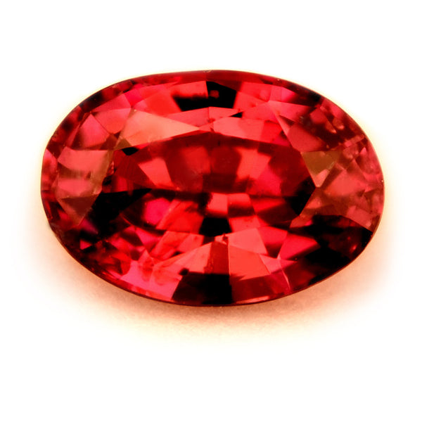 Certified Natural 0.59ct Unheated Ruby, VS CLarity - sapphirebazaar - 1