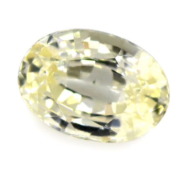 1.02ct Certified Natural White Sapphire