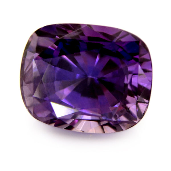 2.01 ct Certified Natural Purple Sapphire